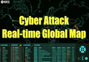 Cyber Attack Real Time Global Map