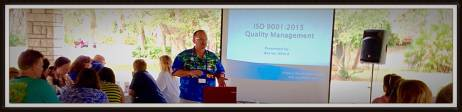 Warren Alford presents the new ISO 9001:2015 standard