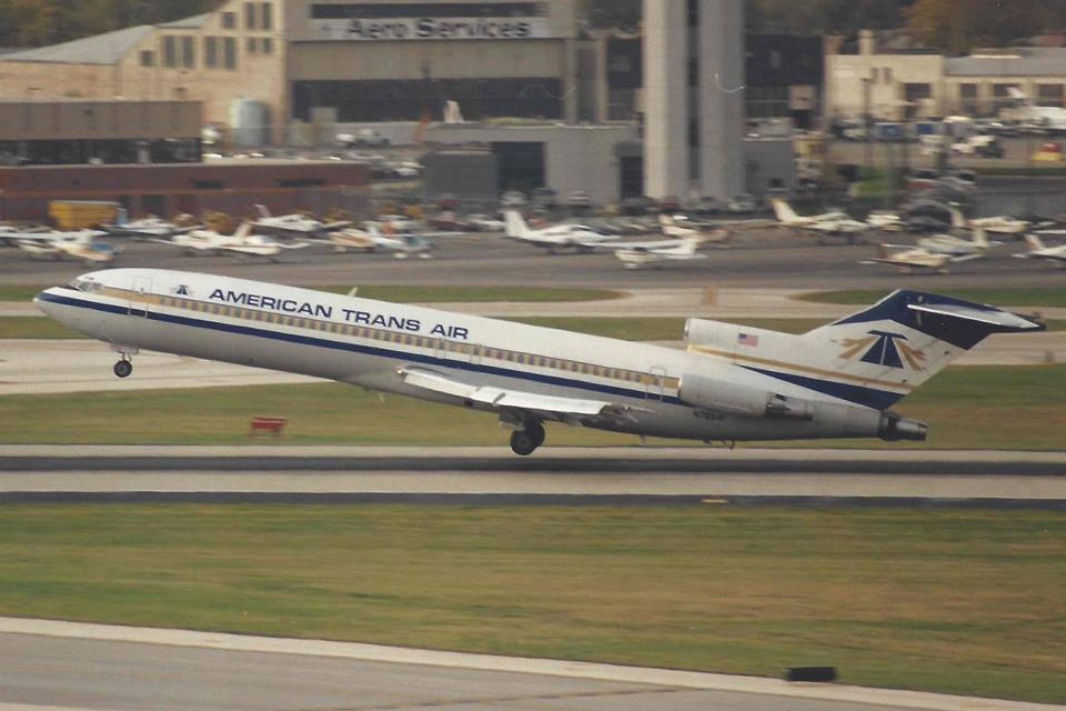 ATA Airlines Boeing 727