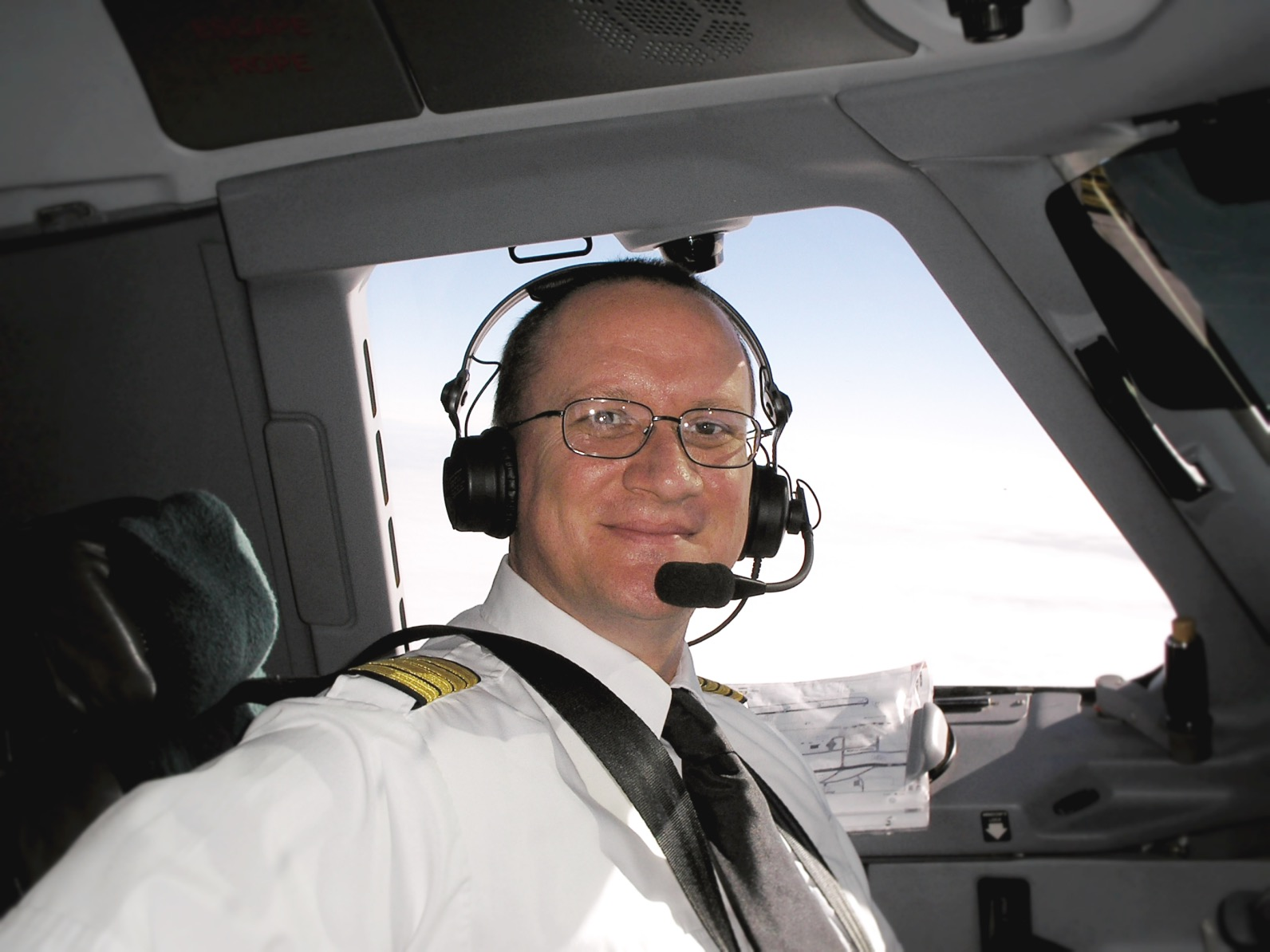 Warren Alford Captain on the Cirrus Airlines ERJ-170