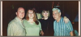 Lynn Alford and Jenny Smith of Red Horse Records, Gail Davies, and Ralph Quinlan