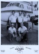 On tour with Wild Honey circa 1984